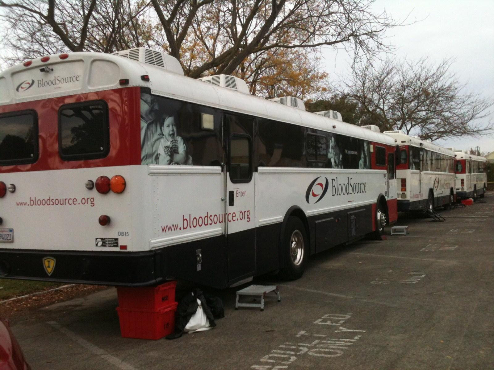 The Red Cross Club held their blood drive on Nov.18 just outside of the O-buildings. This year, around 100 students donated blood.