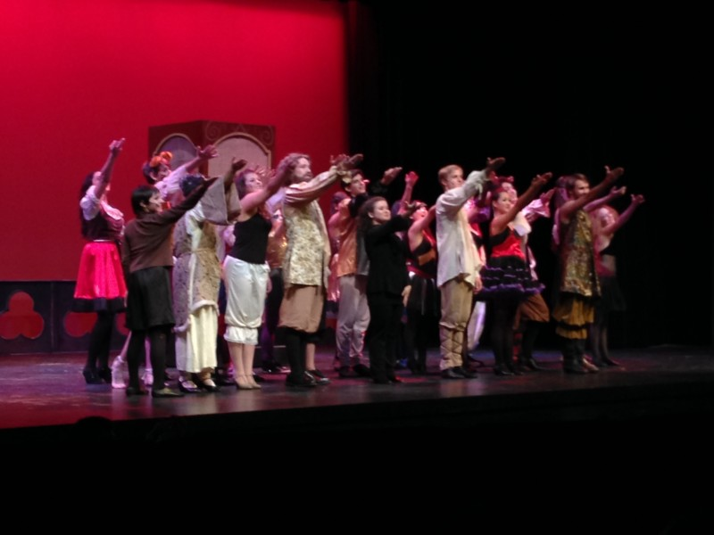 The cast of Pippin concludes their final performance on Nov. 16. The production was successful due partially to how well they got along off the stage.