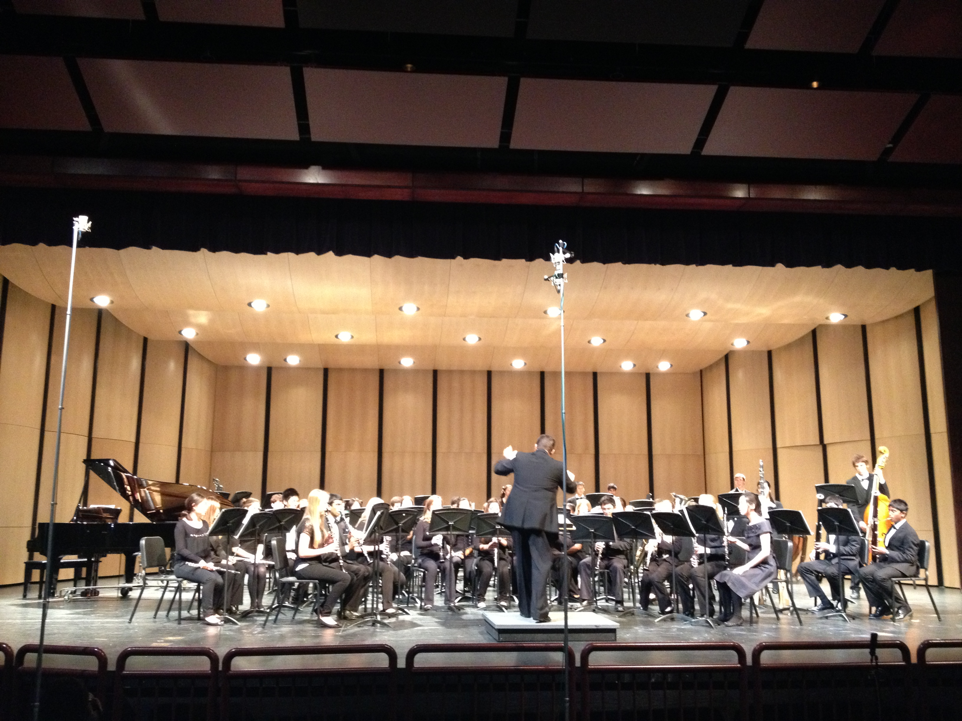 The Symphonic Band performed their first concert of the year on the night of Nov. 19.