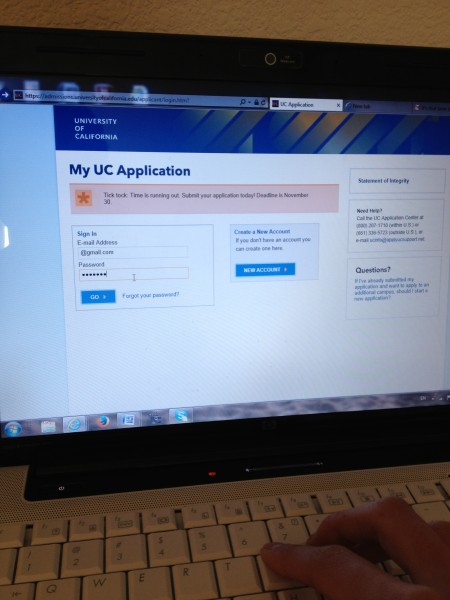 The deadline for UC applications is right around the corner; this is something counselors have reminded students about since last year. Photo Illustration by Linda Su.