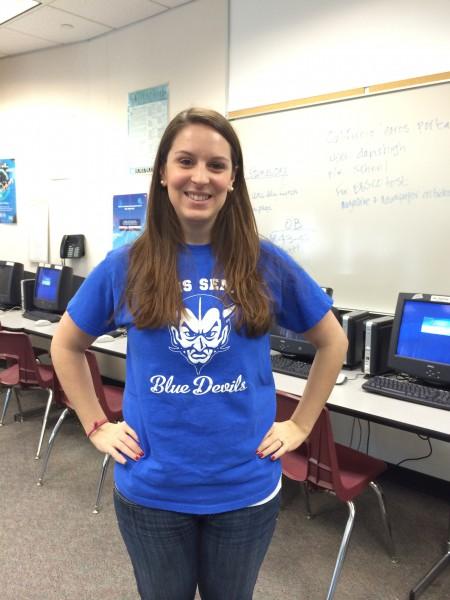 Kelly Christiansen teaches world civilization, psychology, and U.S. history at Davis High.
