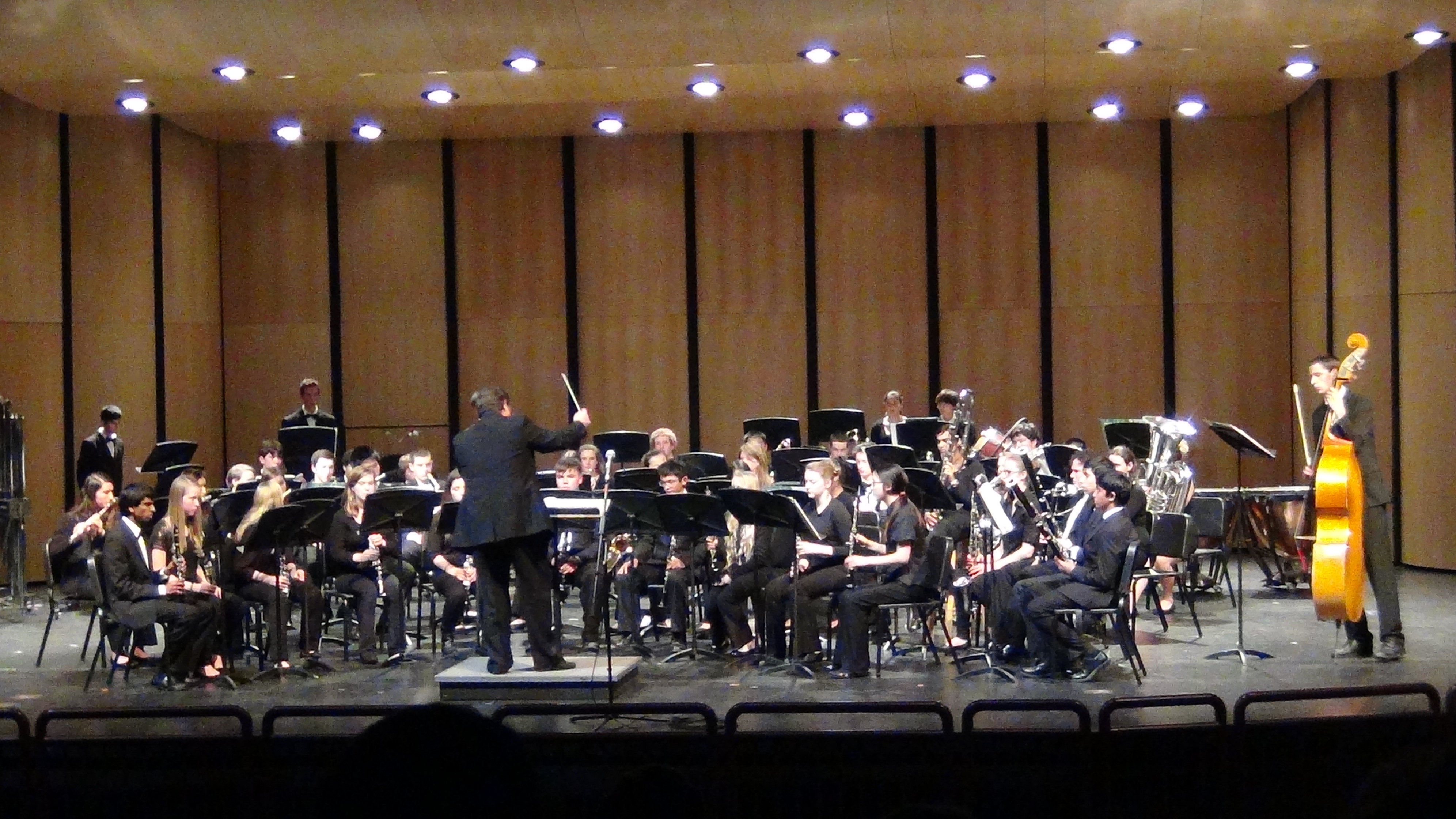 "The Davis High Symphonic Band performs ""Suite Dreams"" by Steven Bryant. The annual Festivity of Bands concert showcased ensembles from UC Davis, CSU Sacramento and DHS."