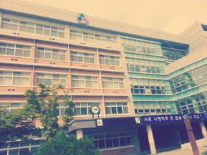 Yoo use to attend Cheonan Wolbong Middle School in Korea. Courtesy photo by Minnie Yoo.