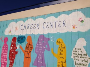 The Career Center is located near the N-building. Photo by Divya Kunda.