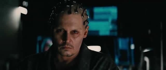 Johnny Depp in Transcendence. Photo: Warner Bros.