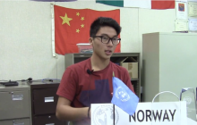 VIDEO: Model United Nations Club discusses real-world problems