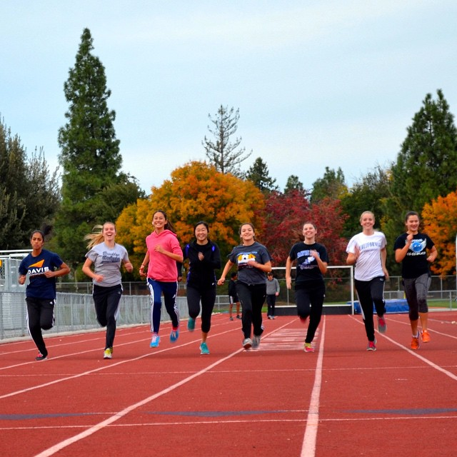 Track Pre-Preseason ends this week! Come to official Preseason after Thanksgiving Break Monday- Thursday at 4pm. (Photo: E. Lufburrow)