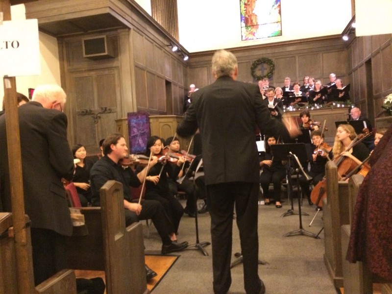 Different DHS music groups perform at the annual Messiah Concert on Sunday, Dec 21.