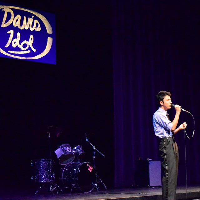 Davis Idol Finale is this Saturday, tickets are available to purchase from ATC members. Go to bluedevilhub.com for photos of the first night. (Photo: R.Akanda)