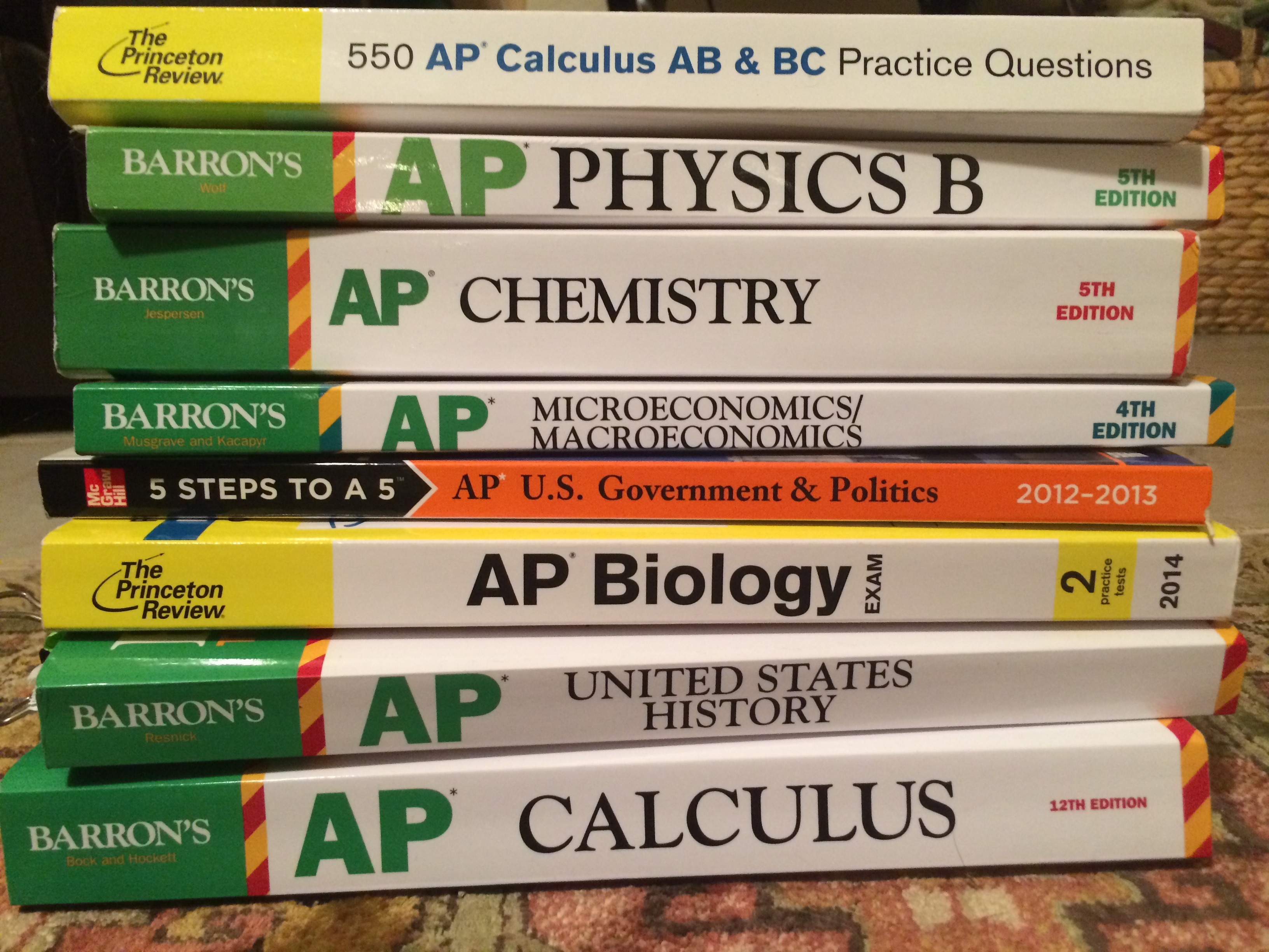 Which AP tests should I take next year?