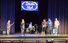 DHS student band, Float the Boat, kicks off the night.