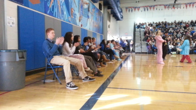 Candidates make their pitches at election assembly