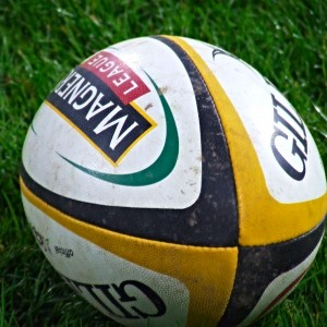Magners League Rugby Ball. Photo by Éamonn via Wikimedia Commons.