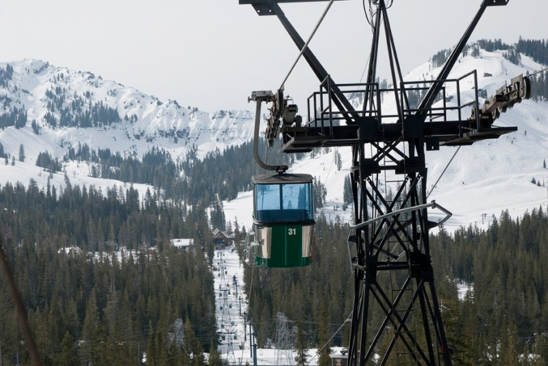 Sugar Bowl Ski Resort in Lake Tahoe. Photo via Wikimedia Commons.