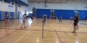 Women's badminton shuts out Napa
