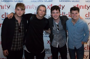 Rixton after performing at the Click 98.9 New Artist Showcase at the Seattle Hard Rock Cafe. Photo courtesy of  Cliff Johnson via Wikimedia Commons.