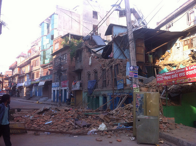 More than 3,000 have died from a devastating earthquake in Nepal. Courtesy photo by Udayan Mishra via Creative Commons.