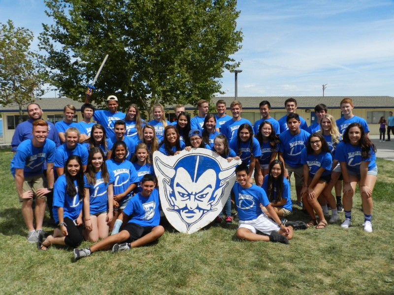 The Student Government class poses for a picture at the beginning of the 2015-16 school year. Courtesy photo by