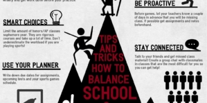 How to juggle school and sports