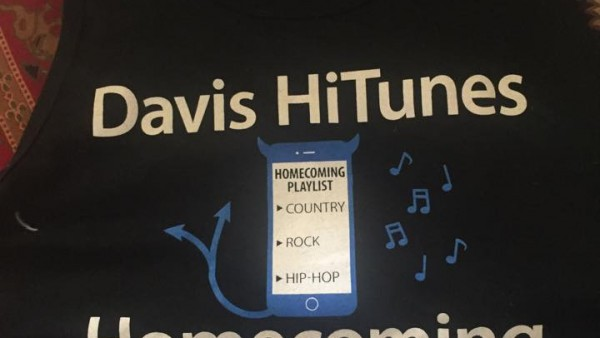 Homecoming t-shirts can be bought ($7 with ASB card, $10 without) and won all week.