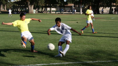 Men's soccer triumphs in last regular season game