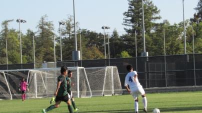 Men's soccer thrashes Mustangs 6-1