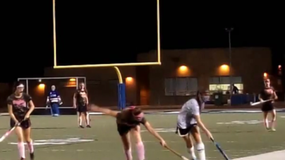 "HIGHLIGHTS: Field hockey defeats Chico on ""Stick it to Cancer"" night"