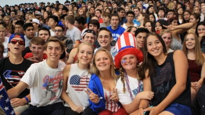 HOMECOMING: Rally kicks off the week