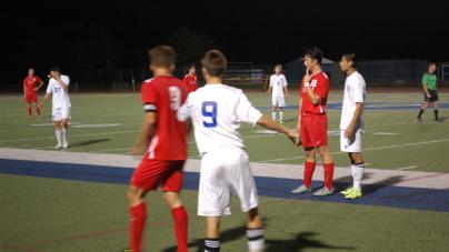 Marauders beat Devil soccer team 2-1