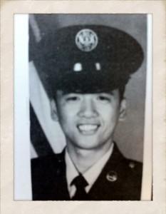 Lauren Aquino's father, Joey Aquino, trained for the U.S. military in 1987. (Courtesy: L. Aquino)