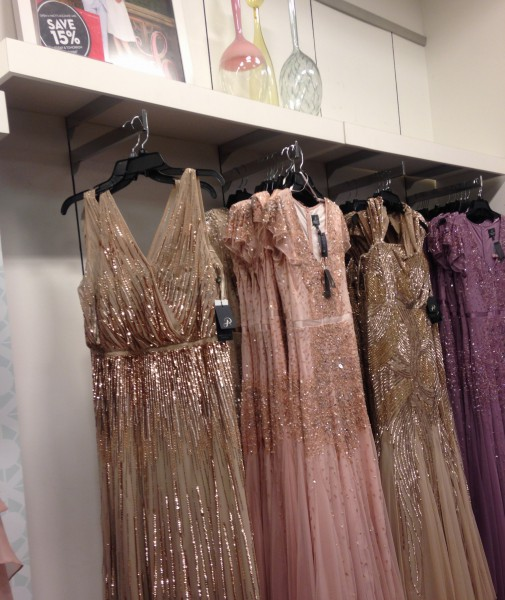 Dresses at places like Nordstrom are often pricey, but there are often sales, making the prettiest dresses affordable.