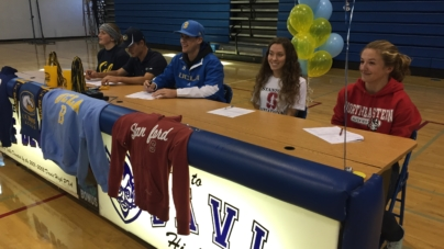 Five athletes commit at early signing ceremony
