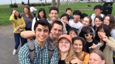 Cultural Exchange Club hosts Korean students