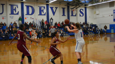 Falcons fluster Lady Blue Devils