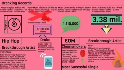 A look back at the 2015 music industry