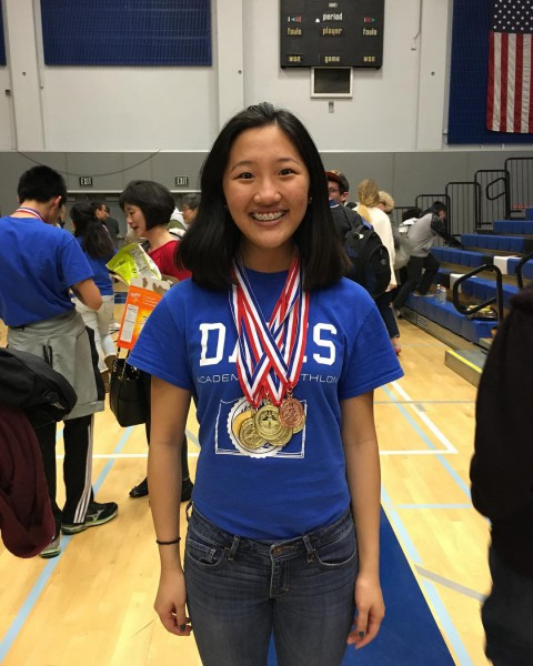 Senior Helena Li grabs gold medals in eight out ofhellip