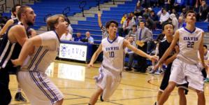 PHOTOS: JV men's basketball at Break the Record Night (Jan. 29)