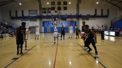Men's basketball edges Franklin Wildcats