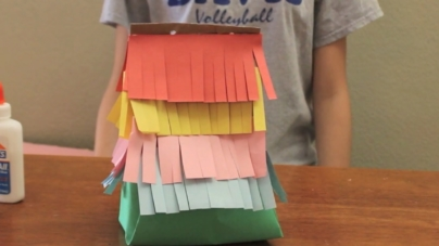 VIDEO: DIY Paper Bag Pinatas