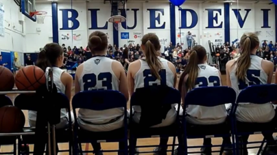 VIDEO: Women's basketball dominates Senior Night game