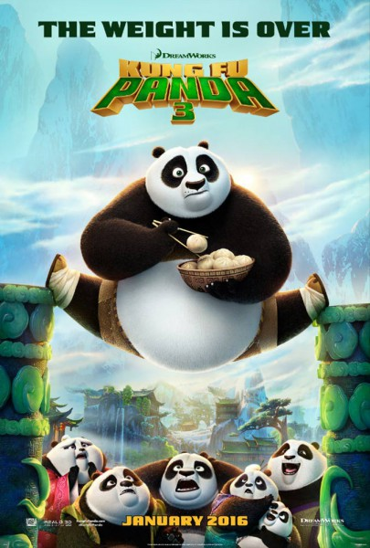 Kung Fu Panda 3 is a good watch if you enjoy mind blowing kung fu and cheesy jokes. (Courtesy photo: DreamWorks)
