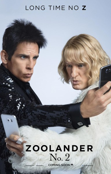 Zoolander 2 premiered on Feb 11. causing many laughs, but not as many as the original, which was hard to recreate. (Courtesy photo www.zoolander.com)