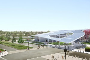 The Shrem Museum will have gallery, education, art studio, and public space.(Photo: T. McNeil)