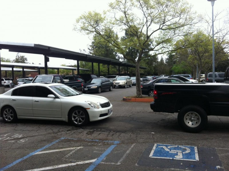 Traffic jams and overcrowding in the parking lot after school increase the chances for rear-end accidents to occur.