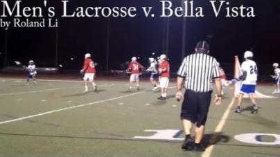 Men's lacrosse vanquishes Bella Vista