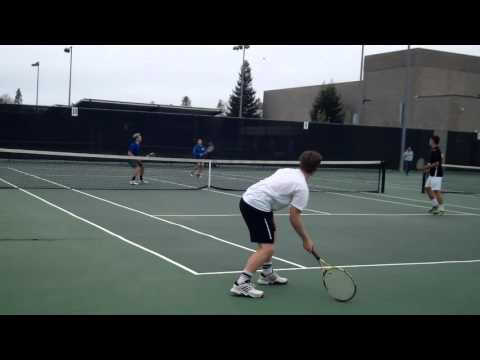 Rained-out week gives men's tennis practice time
