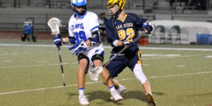 Men's lacrosse steals the win on Senior Night