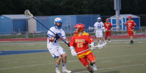 Men's lacrosse downs Jesuit 12-7 on Break the Record Night