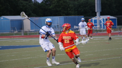 Men's lacrosse downs Jesuit 12-7 on Break the Record Night