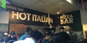"REVIEW: ""Hot Italian"" has not-so-hot prices but tasty pizza"
